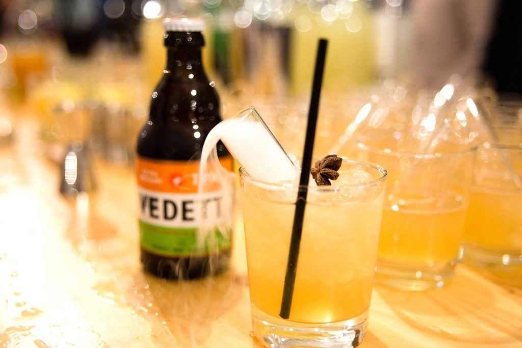 bier cocktail vedett