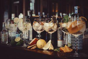 gin & tonic bijhorend
